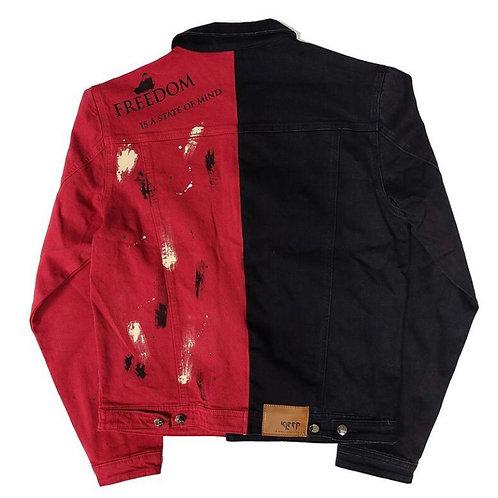 Kleep - Chairo Half & Half Washed Twill Jacket