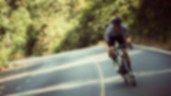 Asian men are cycling road bike in the m
