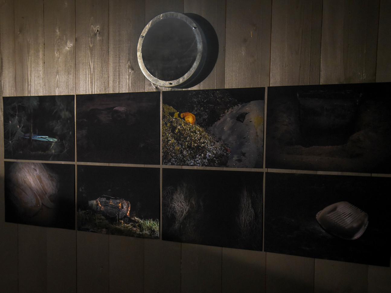 2019 Exposition du workshop avec Clmaudine Doury. Cap Ferret