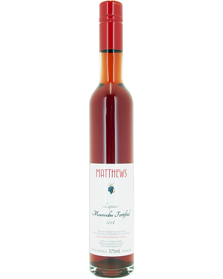 2014 MOURVEDRE fortified 375ml