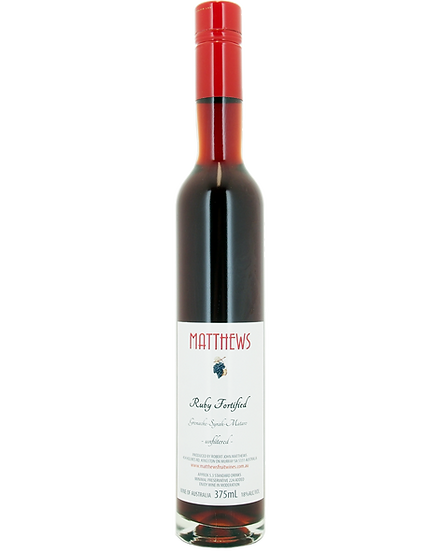 RUBY FORTIFIED (GSM) 375mL 2019 Release