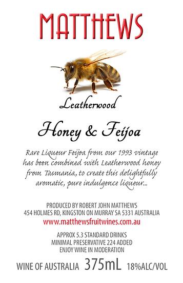 Leatherwood HONEY & FEIJOA 375mL