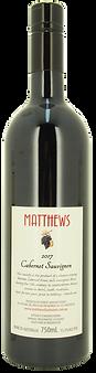 2017 Cabernet Sauvignon Matthews Fruit Wines