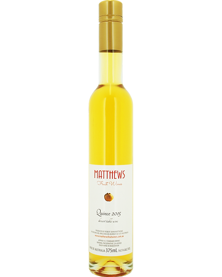QUINCE 2015 dessert table wine 375ml