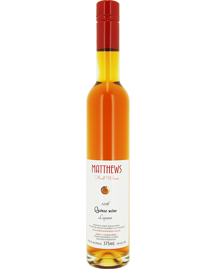 2016 QUINCE wine liqueur 375mL