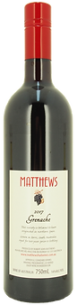 2017 Grenache Matthews Fruit Wines