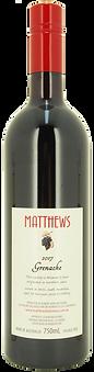 2017 Grenache Matthews Fruit Wines