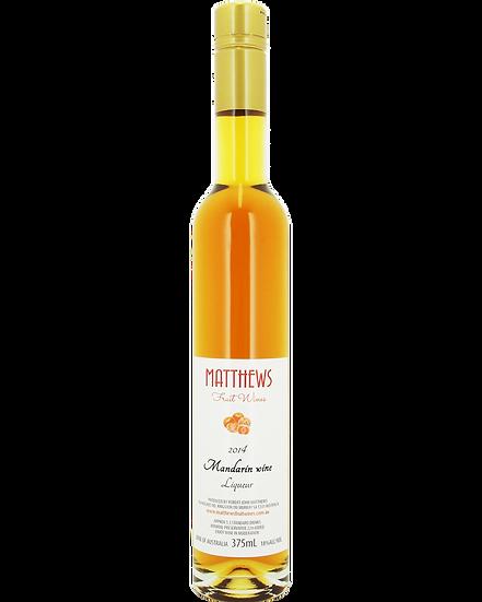 2014 MANDARIN wine liqueur 375ml