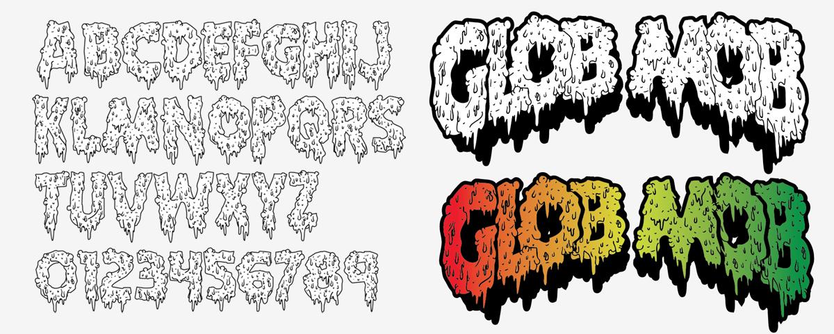 Glob Mob Font