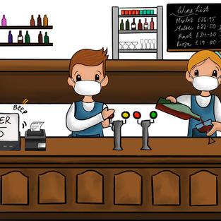 """""""New World"""" Bar"""