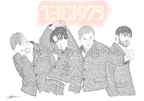 The 1975 - with title
