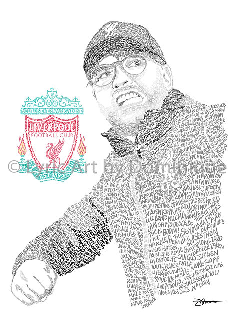 Jurgen Klopp - with LFC Badge