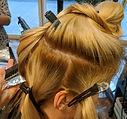 Highlight process, highlights, blonde hair, hair foils, balayage, colour change