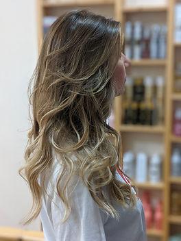 highlights, har colour, blow dry, ladies haircut, long hair