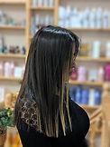 brazilian blow dry, hair straightening, highlights