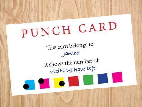 """The Punch Card"" by Janice McCrum"