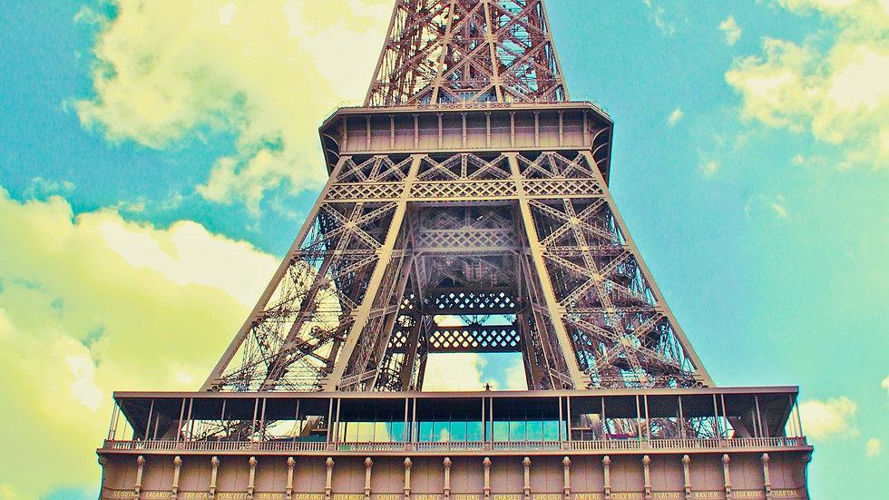 Eiffel Up Close