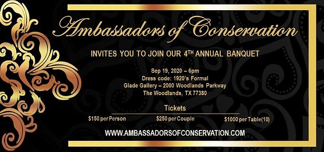 4th Annual Banquet Invitation