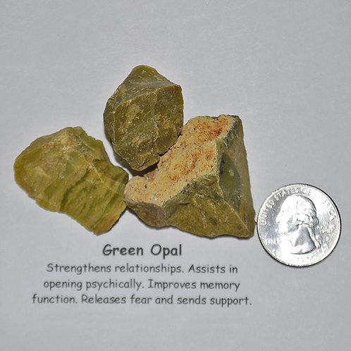 Opal - Green Rough