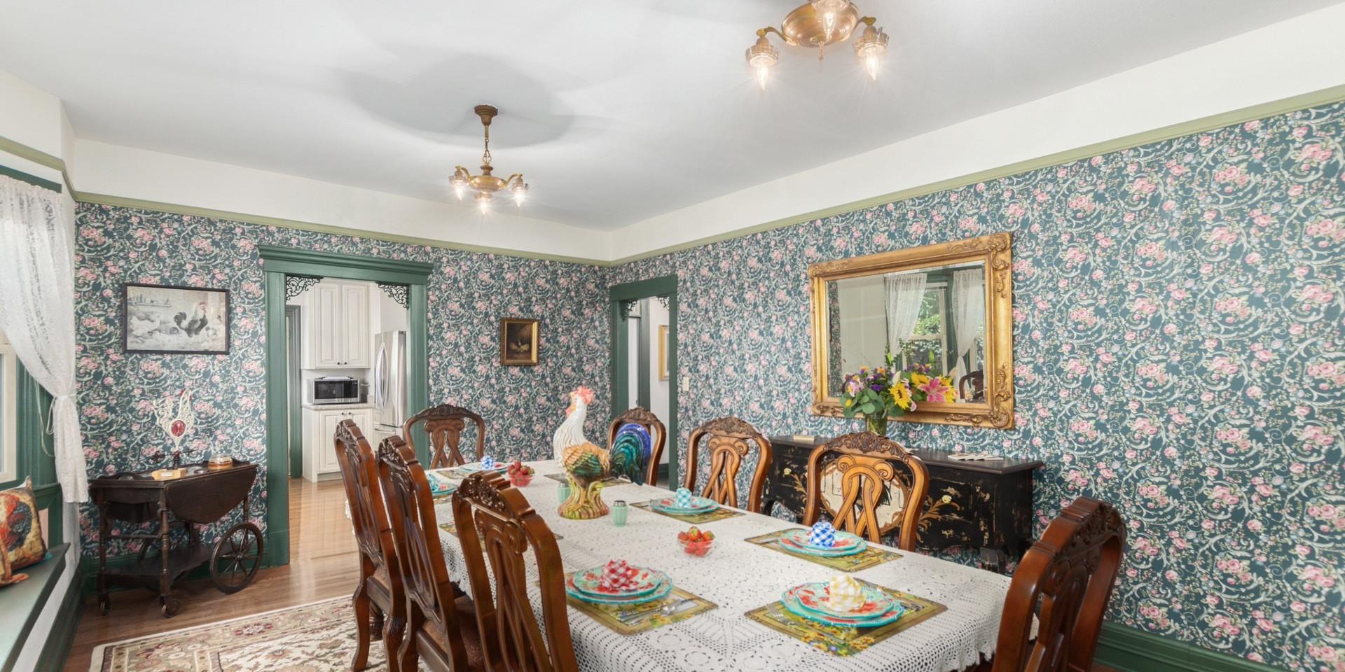 The Rooster Dining Room