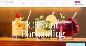 PIMM Portfolio Website - C Event Bartending
