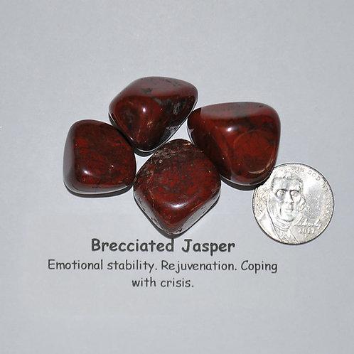Jasper - Brecciated