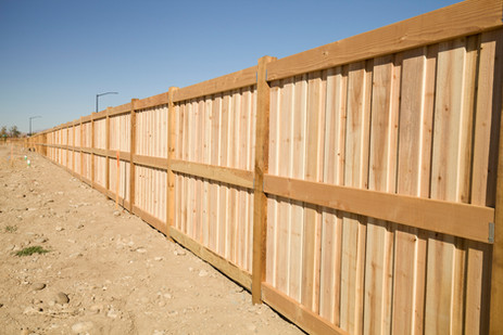 Cedar 3 Rail Board on Board Picture fram