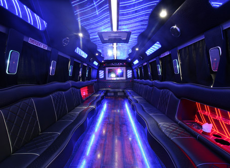 Big Group Parties Call for Party Buses!