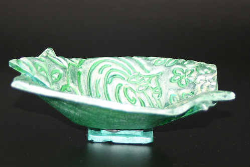 Sml.Rectangular Bowl Green
