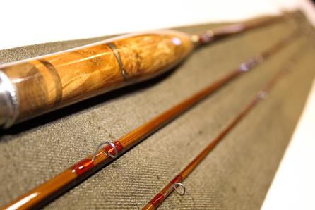 Three Piece Bamboo Fly Rod