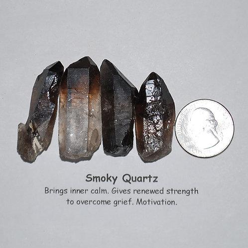 Quartz - Smoky - Point