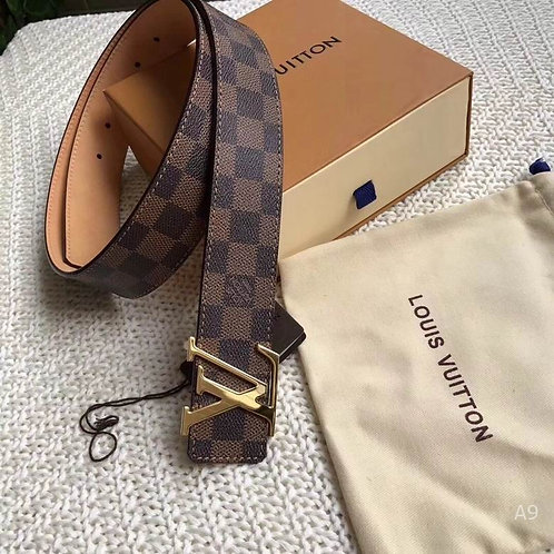 NEW Louis Vuitton Brown Damier Belt (Mens)