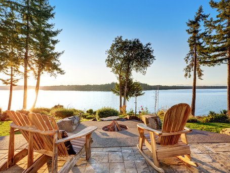 The Many Attractions of Adirondack Chairs