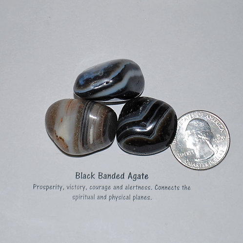 Agate - Black Banded