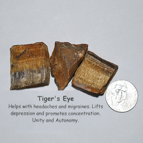 Tiger Eye - Gold Rough