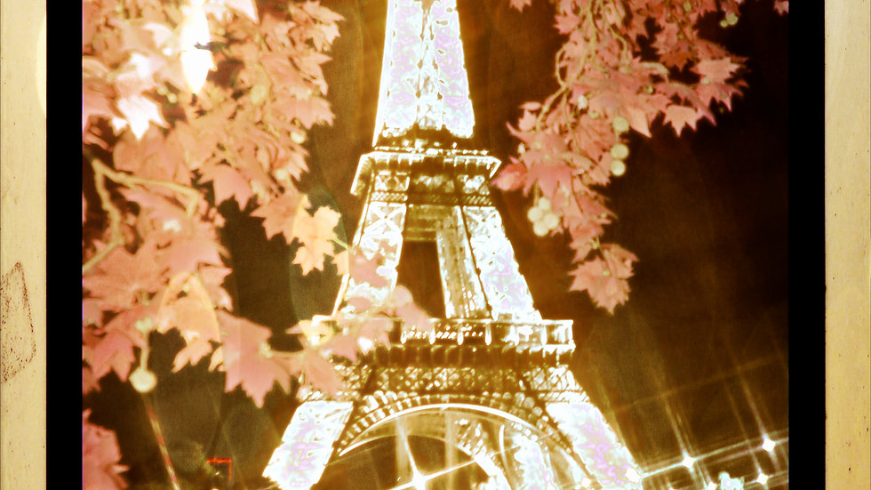 Pink Eiffel Tower
