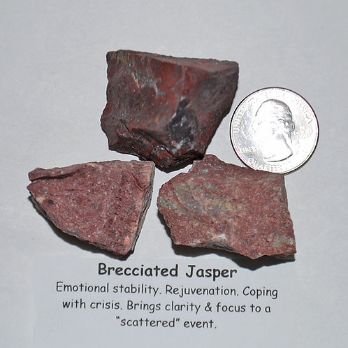 Jasper - Brecciated Rough