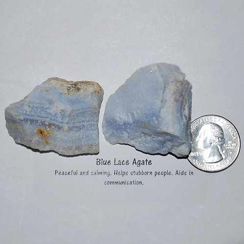 Agate - Blue Lace Rough