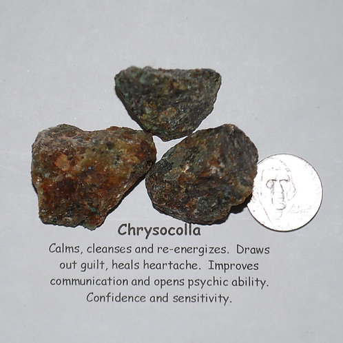 Chrysocolla Rough