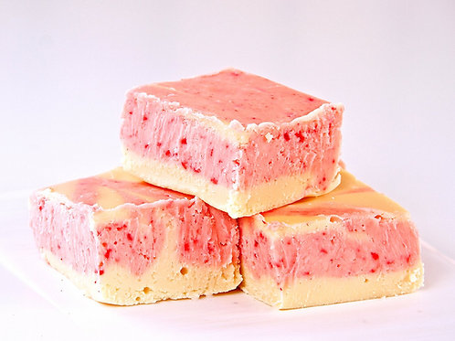Strawberry Cheesecake Fudge  (1 Pound)