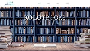 PIMM Portfolio Website - Kolot Books