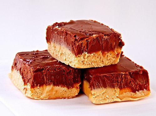 Peanut Butter Chocolate Fudge (1 Pound)