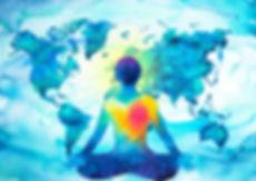 PERSON HELPING WORLD - ATTITUDE OF SERVI
