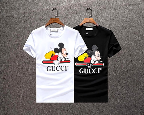 Gucci Vintage Logo with Mickey Mouse Print