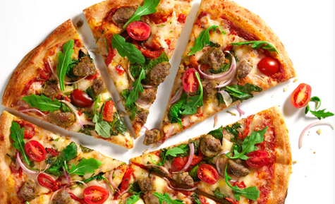 Blaze Pizza restaurant menu; Melissa Barnes Photograpy