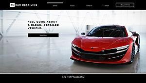 PIMM Portfolio Website - TM Car Detailing