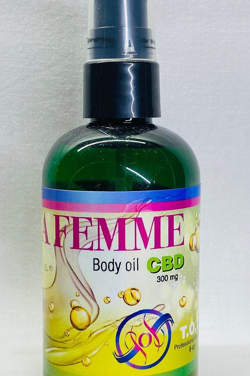 CBD Massage Oil (4 ounces) 300mg