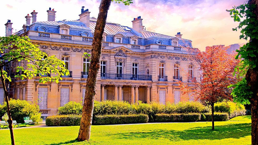 A Park In Paris Text