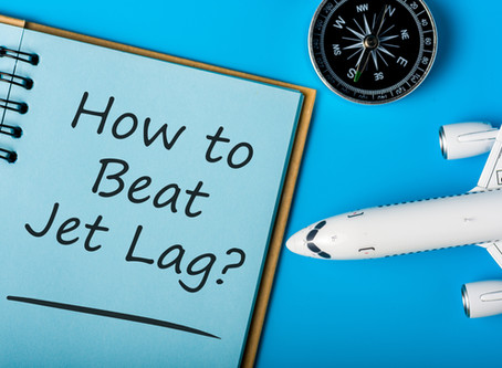 Ways to Help Combat Jet Lag