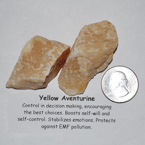 Aventurine -Yellow Rough